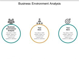 Business Environment Analysis Ppt Powerpoint Presentation Inspiration Backgrounds Cpb