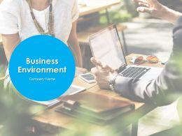 Business Environment Powerpoint Presentation Slides