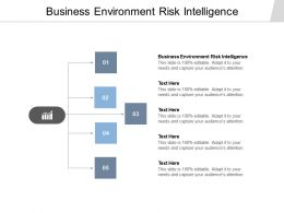 Business Environment Risk Intelligence Ppt Powerpoint Presentation Model Show Cpb