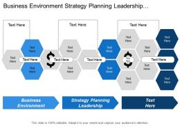 Business Environment Strategy Planning Leadership Alignment Market Demand