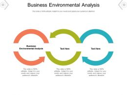 Business Environmental Analysis Ppt Powerpoint Presentation Professional File Formats Cpb