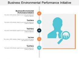 Business Environmental Performance Initiative Ppt Powerpoint Presentation Gallery Outline Cpb