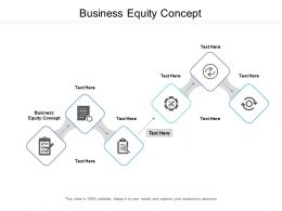 Business Equity Concept Ppt Powerpoint Presentation Portfolio Gridlines Cpb