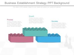 Business Establishment Strategy Ppt Background