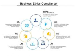 Business Ethics Compliance Ppt Powerpoint Presentation Icon Graphics Cpb