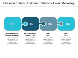 Business Ethics Customer Relations Email Marketing Strategy Plan Cpb
