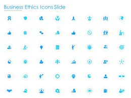 Business Ethics Icons Slide Growth L749 Ppt Powerpoint Presentation