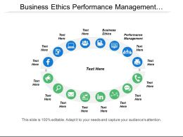 Business Ethics Performance Management Application Development Quality Management Cpb