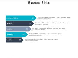 Business Ethics Ppt Powerpoint Presentation Shapes Cpb