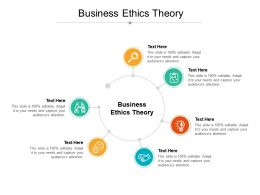 Business Ethics Theory Ppt Powerpoint Presentation Outline Deck Cpb