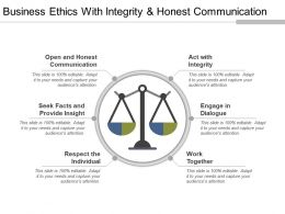 Business Ethics With Integrity And Honest Communication