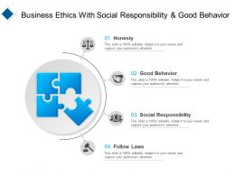 Business Ethics With Social Responsibility And Good Behavior