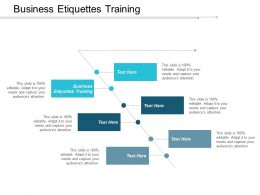 Business Etiquettes Training Ppt Powerpoint Presentation Slides Good Cpb
