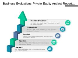 Business Evaluations Private Equity Analyst Report Affiliate Marketing Cpb