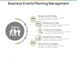 Business Events Planning Management Ppt Example File