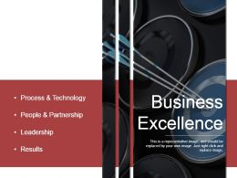 Business Excellence Good Ppt Example