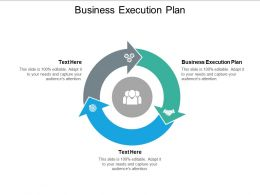 Business Execution Plan Ppt Powerpoint Presentation File Graphics Design Cpb