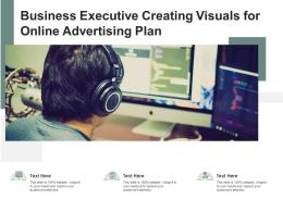 Business Executive Creating Visuals For Online Advertising Plan