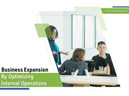 Business Expansion By Optimizing Internal Operations Powerpoint Presentation Slides