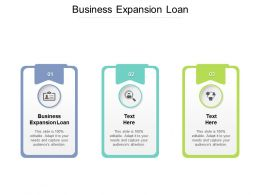 Business Expansion Loan Ppt Powerpoint Presentation Model Summary Cpb