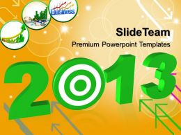 Business Expansion Strategy Powerpoint Templates 2013 With Target Ppt Themes