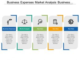 Business Expenses Market Analysis Business Development Competitive Analysis Cpb
