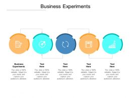 Business Experiments Ppt Powerpoint Presentation Gallery Clipart Images Cpb