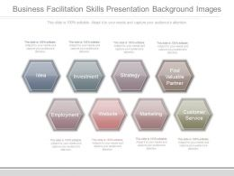 Business Facilitation Skills Presentation Background Images