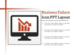 Business Failure Ppt Layout