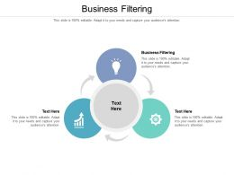 Business Filtering Ppt Powerpoint Presentation Icon Visual Aids Cpb
