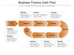 Business Finance Cash Flow Ppt Powerpoint Presentation Ideas Aids Cpb