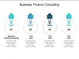 Business Finance Consulting Ppt Powerpoint Presentation Pictures Example Topics Cpb