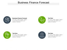 Business Finance Forecast Ppt Powerpoint Presentation Icon Graphics Cpb