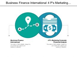 Business Finance International 4 Ps Marketing Corporate Financial Analysis Cpb