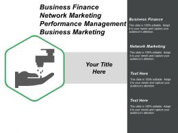Business Finance Network Marketing Performance Management Business Marketing Cpb