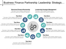Business Finance Partnership Leadership Strategic Management Strategic Segmentation Cpb