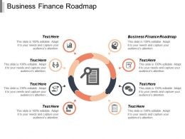 Business Finance Roadmap Ppt Powerpoint Presentation Gallery Infographic Template Cpb