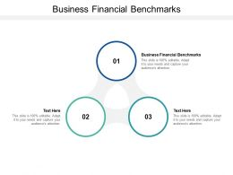 Business Financial Benchmarks Ppt Powerpoint Presentation Outline Images Cpb
