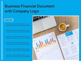 Business Financial Document With Company Logo
