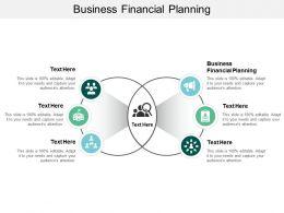 Business Financial Planning Ppt Powerpoint Presentation Ideas Portrait Cpb