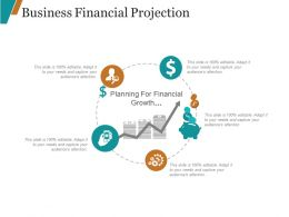 Business Financial Projection Powerpoint Shapes
