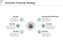 Business Financial Strategy Ppt Powerpoint Presentation Infographics Slides Cpb