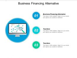 Business Financing Alternative Ppt Powerpoint Presentation Gallery Designs Download Cpb