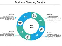 Business Financing Benefits Ppt Powerpoint Presentation File Example Introduction Cpb