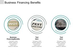 Business Financing Benefits Ppt Powerpoint Presentation Gallery Layouts Cpb