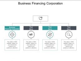 Business Financing Corporation Ppt Powerpoint Presentation Gallery Show Cpb