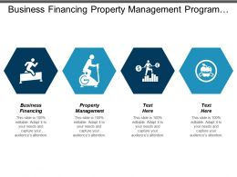 Business Financing Property Management Program Management Data Management Cpb
