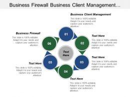 Business Firewall Business Client Management Content Relationship Management