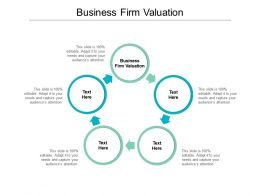 Business Firm Valuation Ppt Powerpoint Presentation Layouts Graphics Tutorials Cpb