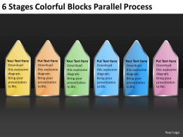 Business Flow Chart Blocks Parallel Process Powerpoint Templates PPT Backgrounds For Slides